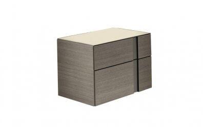 Nachttisch Abaco 2 Schubladen