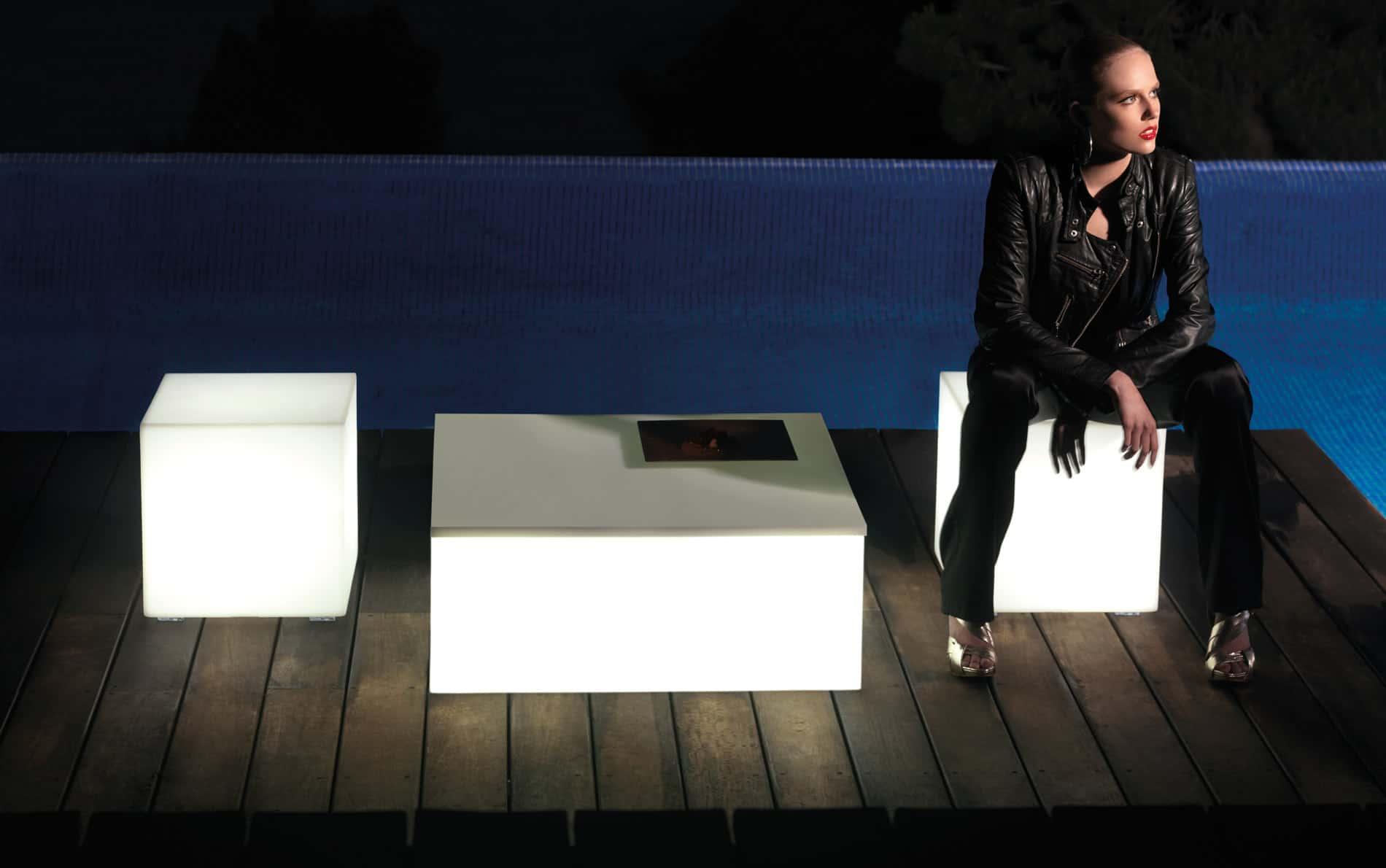 Quadrat Mesa Couchtisch 80x80 cm